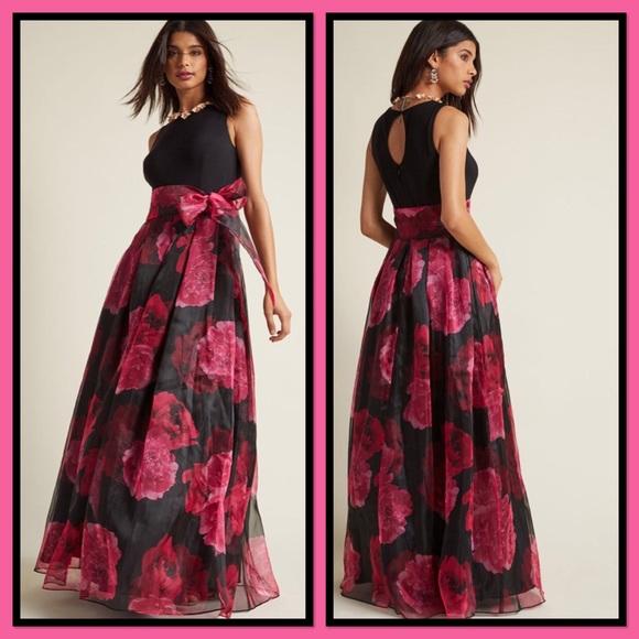 2168592e8 Eliza J Dresses   Skirts - NWOT Eliza J Party Prestige Floral Maxi Dress